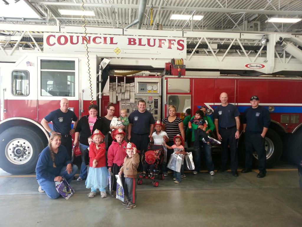 Family Connections Group at the Fire Station